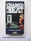 chained heat - linda blair stella stevens VHS 1989 video treasures 97 mins used