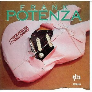 frank potenza - express delivery CD 1989 TBA records used