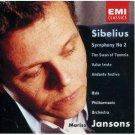 sibelius symphony no.2, swan of tuonela ... - jansons with oslo philharmonic CD 1993 hydro EMI mint