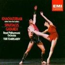 Khachaturian - Gayaneh & Spartacus Suites - royal phil & temirkanov CD 1986 EMI used mint