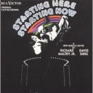 starting here starting now - original cast recording CD 1977 RCA showcase used mint