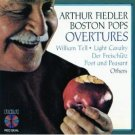 arthur fiedler and boston pops - overtures CD 1985 RCA used