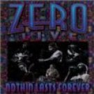 zero live at maritime hall - nothin lasts forever CD 1998 popmafia used mint