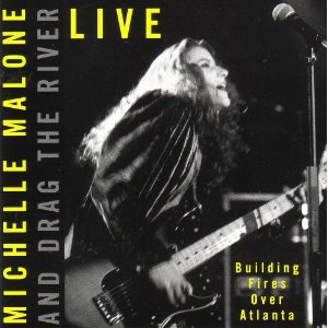 michelle malone live - building fires over atlanta CD 1991 arista 5 tracks used mint