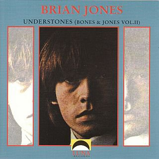 brian jones - understones bones & jones vol.II CD luna records 24 tracks used mint