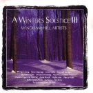 a winter's solstice III - windham hill artists CD 1990 windham hill used mint