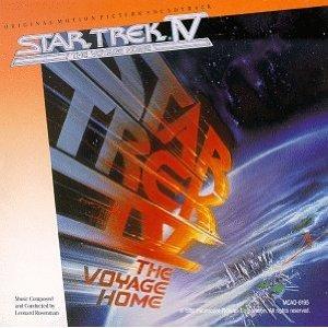 star trek iv - the voyage home CD 1986 MCA used mint