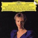 brahms - lieder - anne sofie von otter & bengt forsberg CD 1990 DG used mint