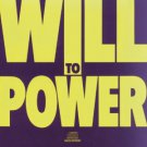 will to power - will to power CD 1988 epic 10 tracks CBS used mint