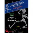 grateful dead - ticket to new year's DVD 1998 monterey GD used mint