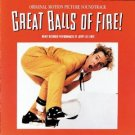 great balls of fire soundtrack - jerry lee lewis CD 1989 polygram12 tracks used mint