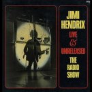 jimi hendrix - live and unreleased the radio show CD 3-disc box 1989 castle used mint