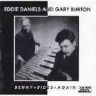 eddie daniels and gary burton - benny rides again CD 1994 jazz heritage used mint