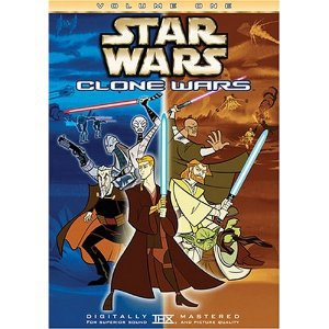 star wars - clone wars volume one DVD 2005 20th century fox used mint