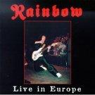 rainbow - live in europe CD 2-discs mausoleum classix BMG used mint