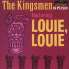kingsmen in person featuring louie louie CD 1993 sundazed used mint
