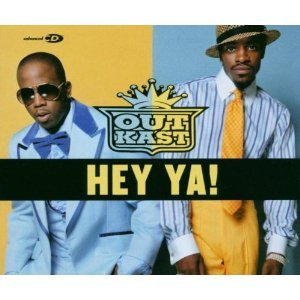 outkast - hey ya! CD single 3 tracks 2003 arista used like new