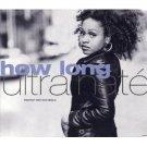 ultra nate - how long CD single 1993 warner 10 tracks used mint