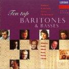 teo top baritones & basses - various artists CD 1993 decca london used mint