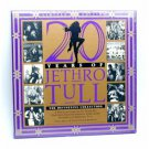 20 years of jethro tull definitive collection CD 3-disc limited edition boxset 1988 chrysalis new