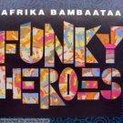 afrika bambaataa - funky heroes CD single 1993 bounce 5 tracks used mint