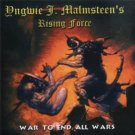 yngwie malmsteen's rising force CD 2000 spitfire 14 tracks used mint