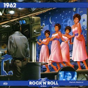 1962 the rock n roll era - various artists CD 1992 time life warner 22 tracks used mint