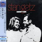 stan getz - didn't we CD 1970 2003 verve japanese paper sleeve edition new