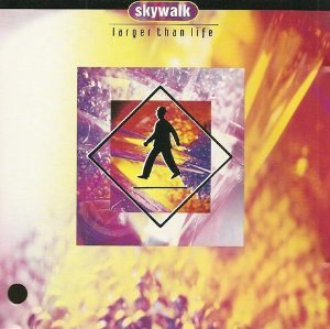 skywalk - larger than life CD 1992 bluemoon 10 tracks used mint