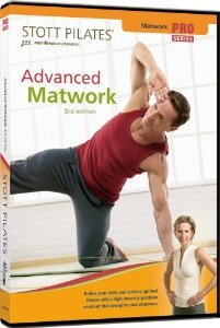 Stott Pilates Advanced Matwork 3rd Edition DVD 2007 merrithew new