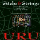 sticks and strings - uru CD 1993 timeless radiodio netherlands used mint