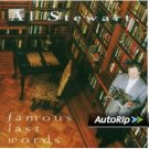 al stewart - famous last words CD 1993 mesa BMG Direct 11 tracks used mint
