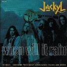 jackyl - when will it rain CD single 1993 geffen 5 tracks used mint