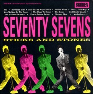 seventy sevens - sticks and stones CD 1990 broken records BMG Direct used mint
