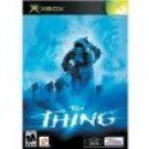 xbox - the thing - universal interactive konami mature used mint