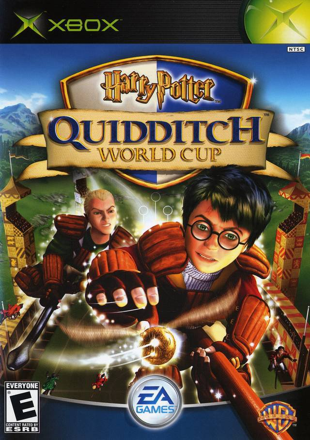 xbox - harry potter quidditch world cup 2003 electronic arts Everyone used mint