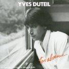 yves duteil - ton abscence CD 1987 les editions de l'ecritoire columbia used mint