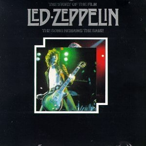 led zeppelin - story of the film CD 1992 tabak marketing limited used mint