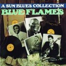 a sun blues collection blue flames - various artists CD 1990 rhino 18 tracks used mint
