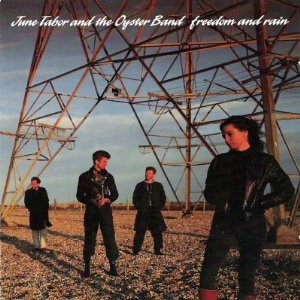 june tabor and the oyster band - freedom and rain CD 1990 cooking vinyl used