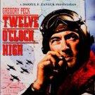 twelve o'clock high - gregory peck DVD 2002 20th century fox new