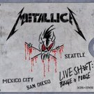 metallica - live sh*t binge & purge CD + DVD 5-disc box 2002 elektra asylum used mint