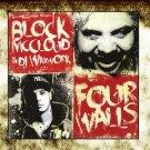 block mccloud & dj waxwork - four walls CD 2012 disturbia music 19 tracks used mint