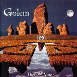 golem - the 2nd moon CD 1999 ars metalli rough trade 9 tracks used mint