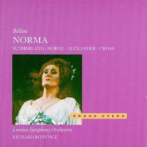 bellini - norma - sutherland horne alexander cross CD 1989 decca used