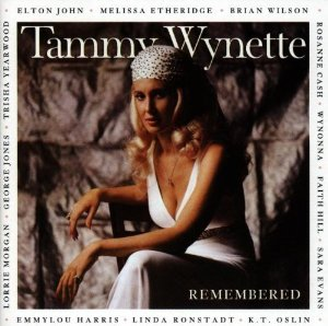 tammy wynette - remembered CD 1998 elektra used mint