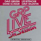 dave grusin lee ritenour diane schuir dave valentin GRP live in session CD 1985 used mint