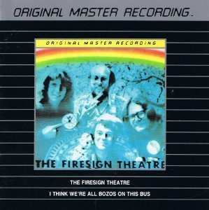 firesign theatre - i think we're all bozos on the bus CD 1990 mobile fidelity sound lab used