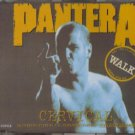 pantera - walk + a new level CD single 4 tracks 1993 wea used