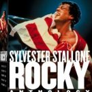 rocky anthology - silvester stallon DVD 5-disc boxed set 2006 MGM used